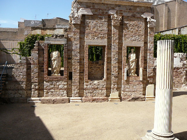 Portique du forum