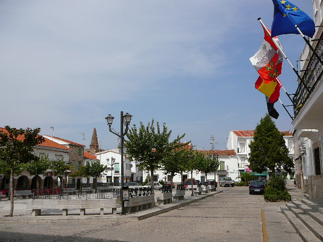 <i>Plaza Mayor</i> de Galisteo