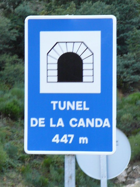 05 Lubían Passage par le tunnel