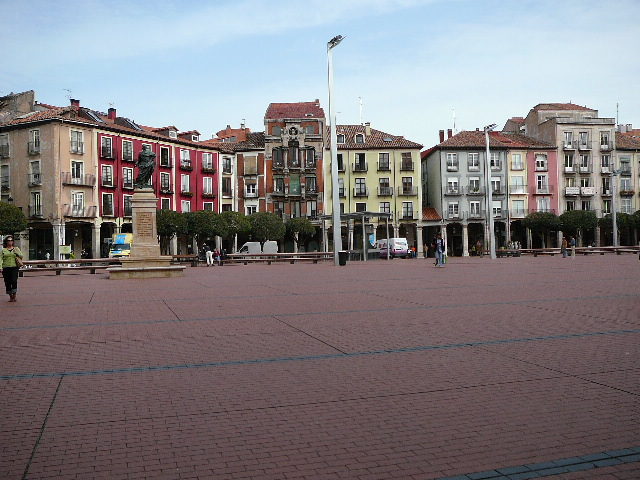 10 Burgos <i>Plaza Mayor</i> de Burgos